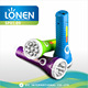 LONEN 500mAh battery promotional emergency 9 LED flashlight rechargeable