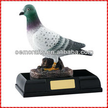 New designed resin bird trophy cup