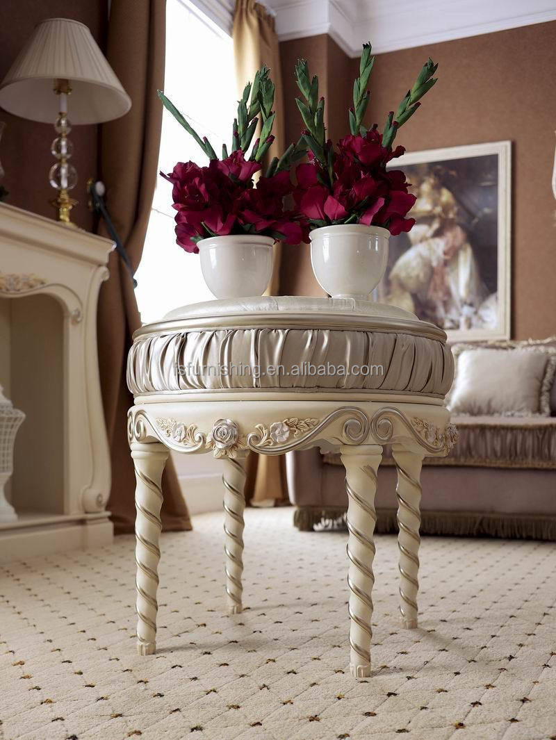 Table And Chair Set For Bedroom Ym023 Elegant White Neoclassic French Living Sitting Room Reisure