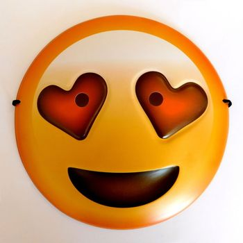 best seller halloween party 3d emoji mask cool guy smiling emoji