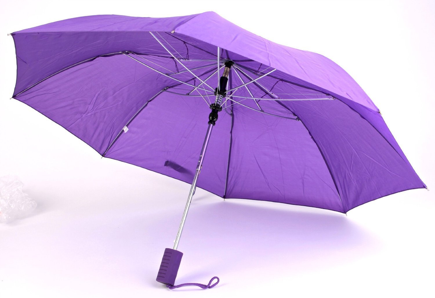 "The Weather Station Folding Automatic Umbrella with 42"" Coverage, Colors May Vary, 1 Pack"