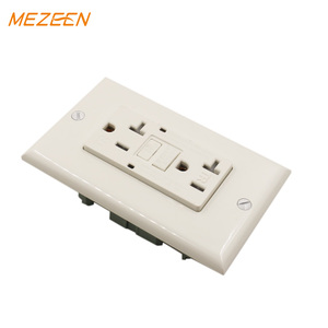 American wall socket 220v gfci receptacle for United states 20A