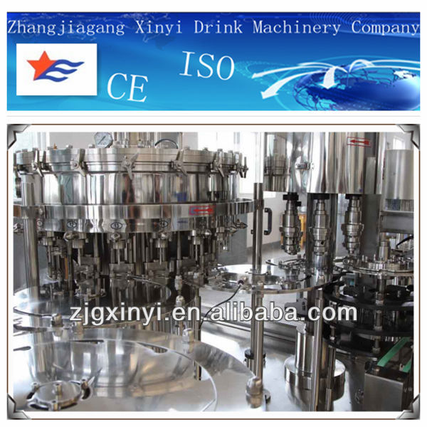 small liquid filling production line