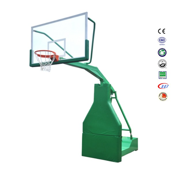 Factory tempered glass backboard basketball stand,basketball hoops for sale