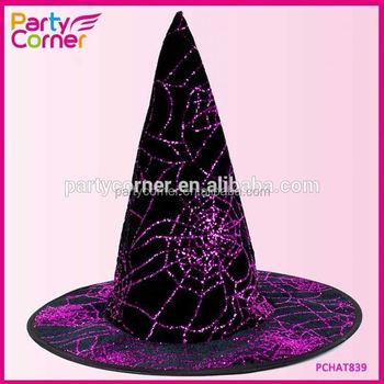 Purple Glitter Witch Child Hat & Purple Glitter Witch Child Hat - Buy Purple Glitter Witch Hat ...