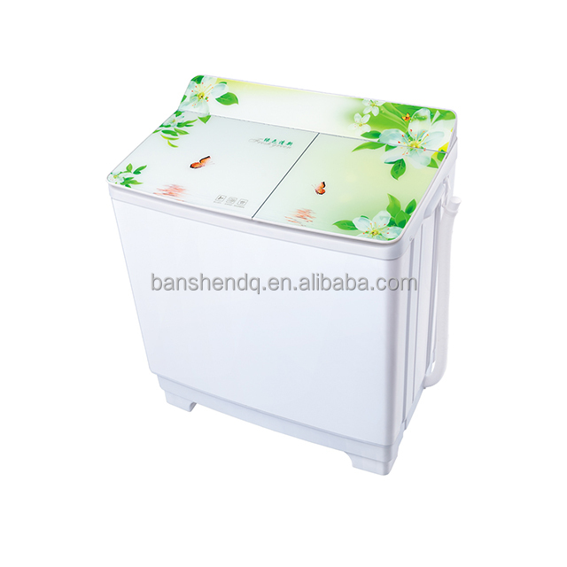 Big Size 10KG Double Layer twin tub Washing Machine With Glass cover