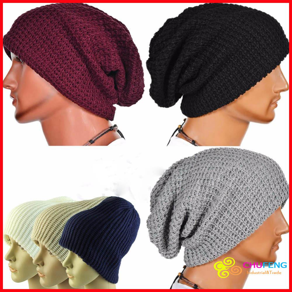 ae2183fcc40 Men s Women Beanie Knit Ski Cap Hip-Hop Blank Color  strong Winter