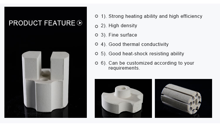Manufacturer Electrical Bobbin Insulator Cordierite Ceramic