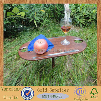 Small Wooden Picnic Table Wooden Portable Table