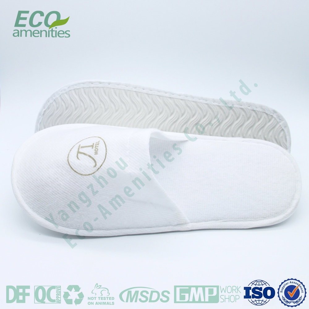 Home / Hotel use Customized Printing Logo Man slipper
