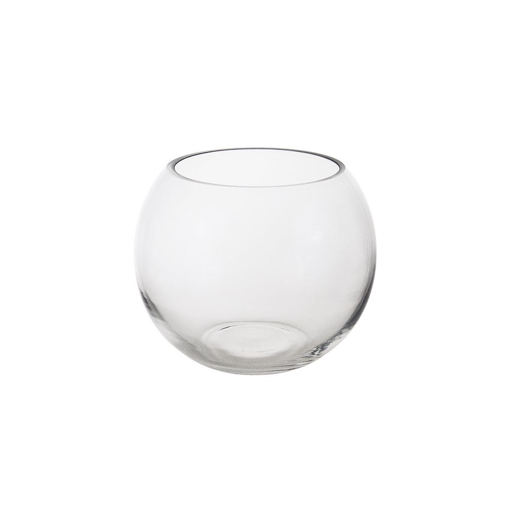 Cheap clear glass fish bowl vase find clear glass fish bowl vase get quotations mega vases 6 x 5 bubble fish bowl glass vase set of reviewsmspy