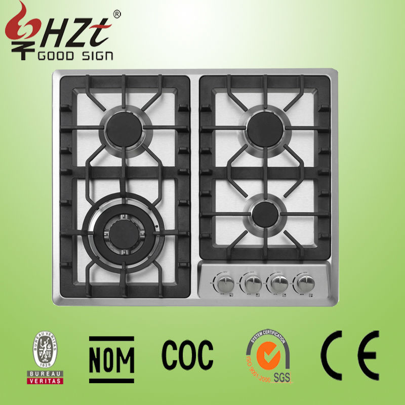 2016 Stainless steel hot sale gas stove/gas stove with oven/gas hob with burner