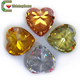 Cubic zirconia stone price rings plastic gems wholesale