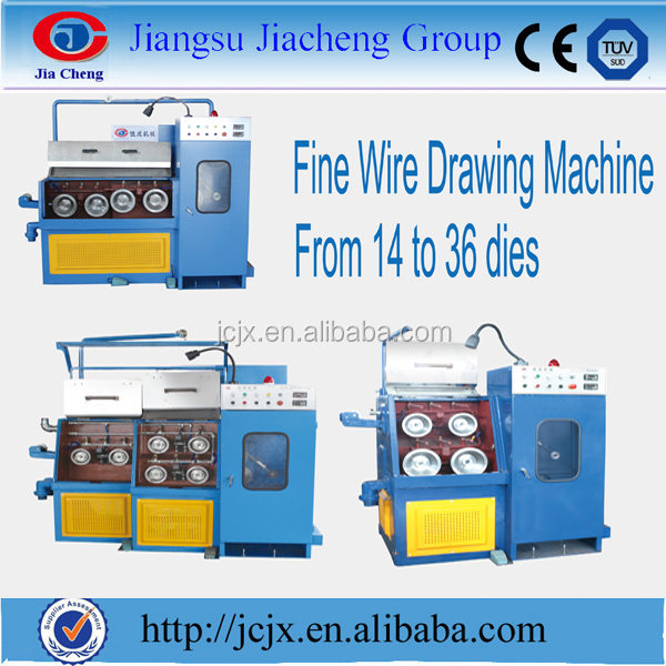 Extremely Fine Copper Wire Drawing Making Machine