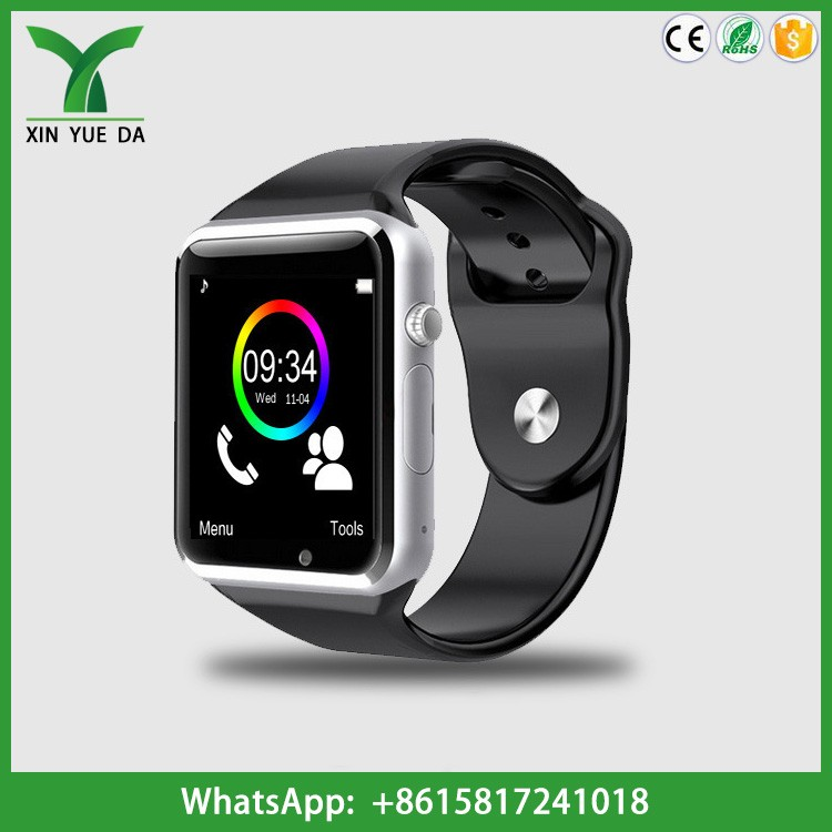 A1 touch screen bluetooth cheap smart watch with camera