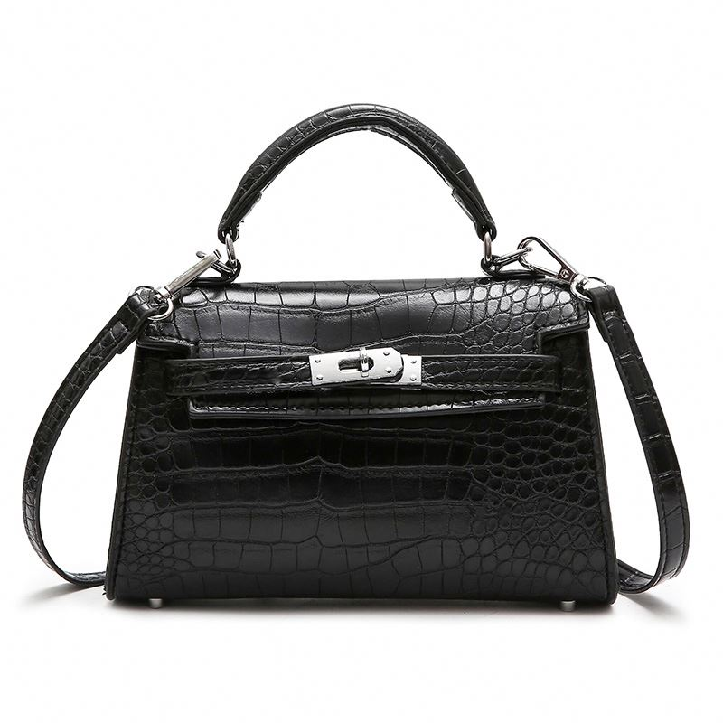 9c1cf8cd4 Crocodilo Padrão de Bolsas De Grife De Luxo das Mulheres de Couro Messenger  Bags Para O