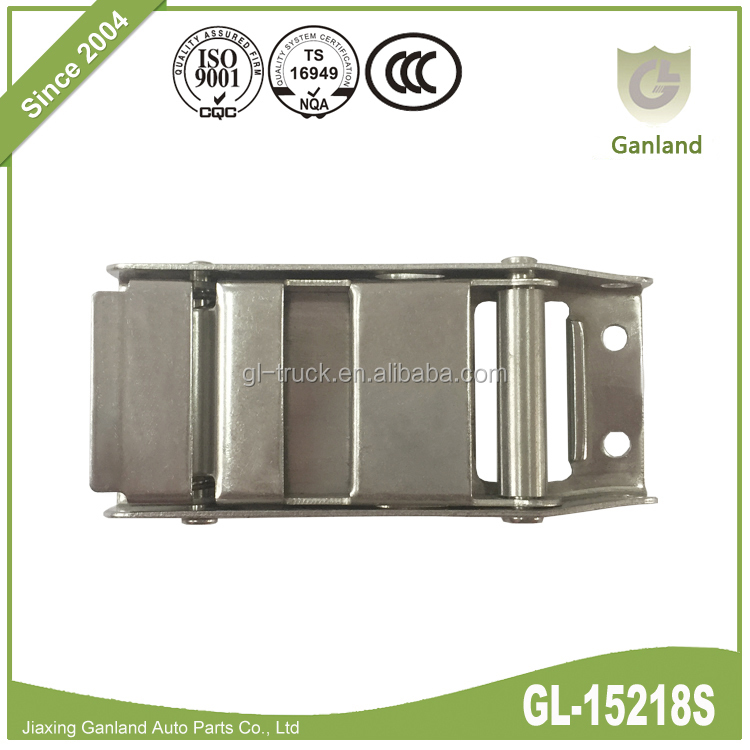 GL-15218S Stainless Steel Press Release Over Center Buckle For Tautliner