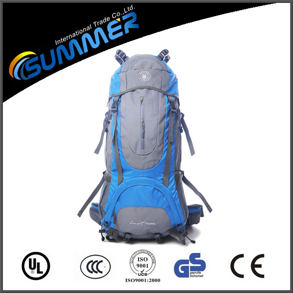 60L large capacity hiking backpack multifunctional traveling bag