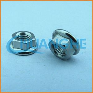 Chinese manufacturing din 6927 flange nut