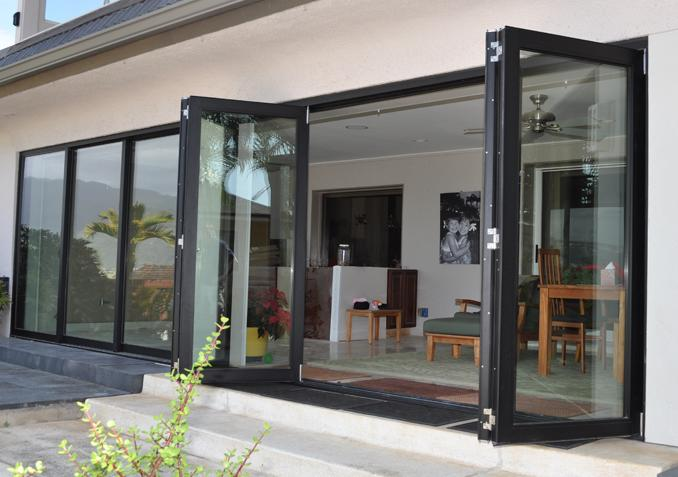 Lowes interior glass bifold doors cheap aluminium glass for Cheap sliding glass doors