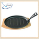 cast iron steak sizzler plate with best price from China