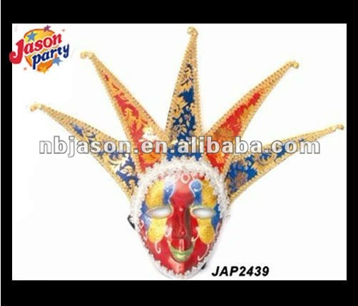 2012 Venetian Masks Ceramic Clown Mask Full Head Mask