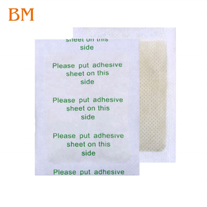 OEM/ODM Factory Clean and Energize Your Body By Bamboo Vinegar and Tourmaline Detox Foot Pads
