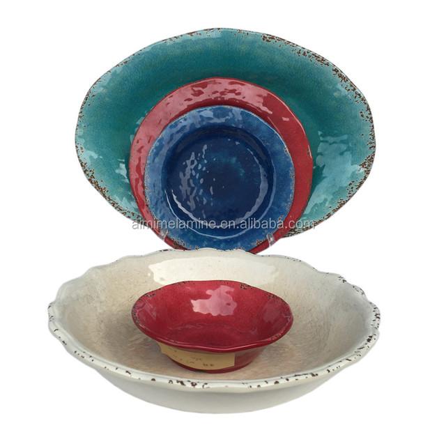 wholesale plastic unbreakable retro melamine dinnerware set  sc 1 st  Alibaba & China Melamine Dinnerware Sets Prices Wholesale ?? - Alibaba