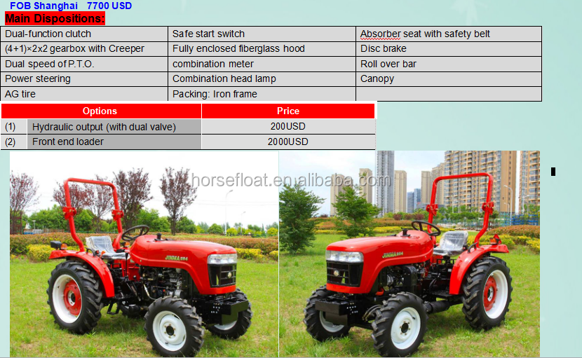 New Style Jm-254 Jinma Mini Tractor - Buy Tractor,Tractor