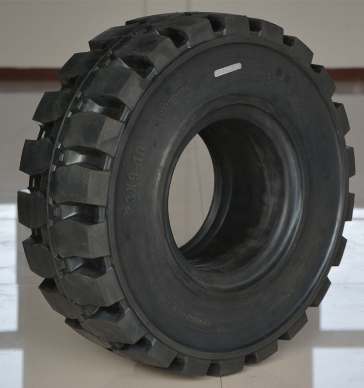 China Forklift Solid Wheel Tire 8.25-12 For Linde