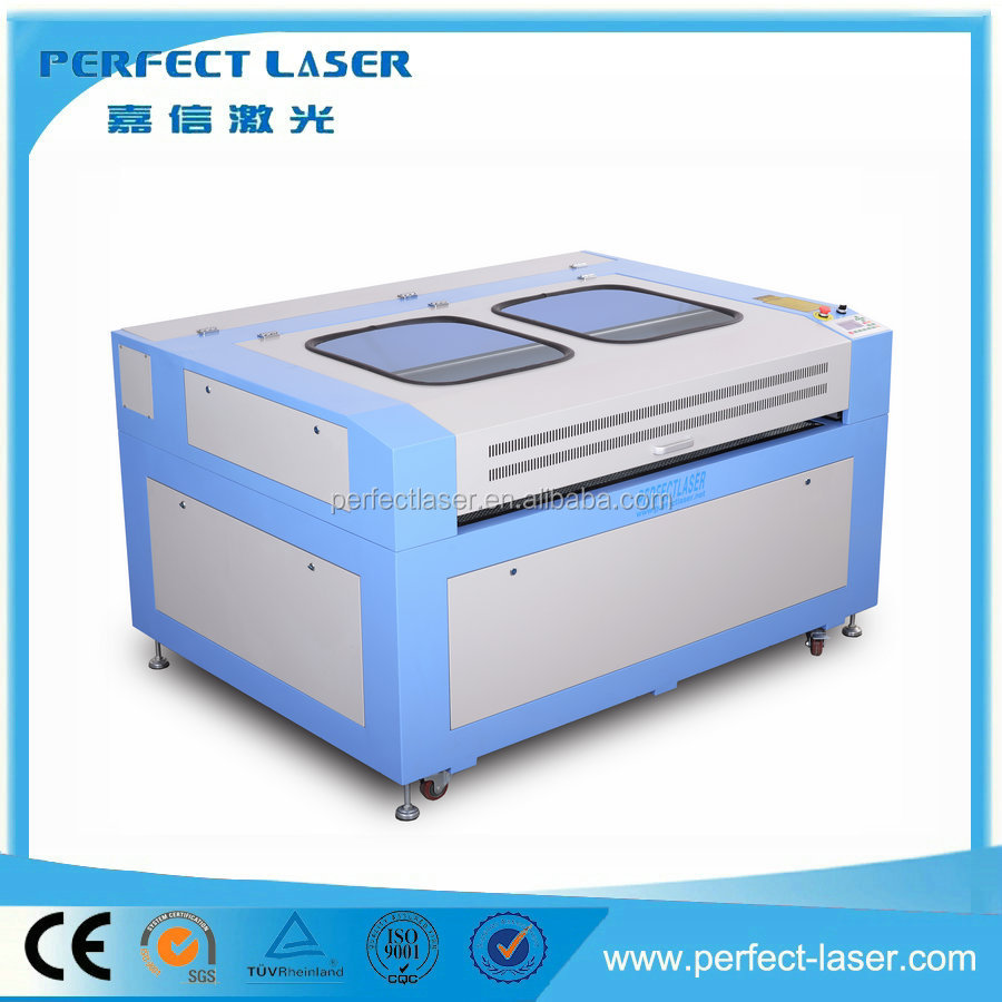 Perfect Laser- PEDK-160100II 60W 80W 100W Co2 Laser Engraving Cutter with Double Laser Heads for Wooden materials