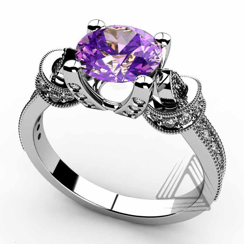 Anillos con diamantes para mujer