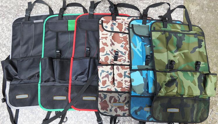 car storage organizer multi pocket hanging kids kick mat protector car back seat organizer with