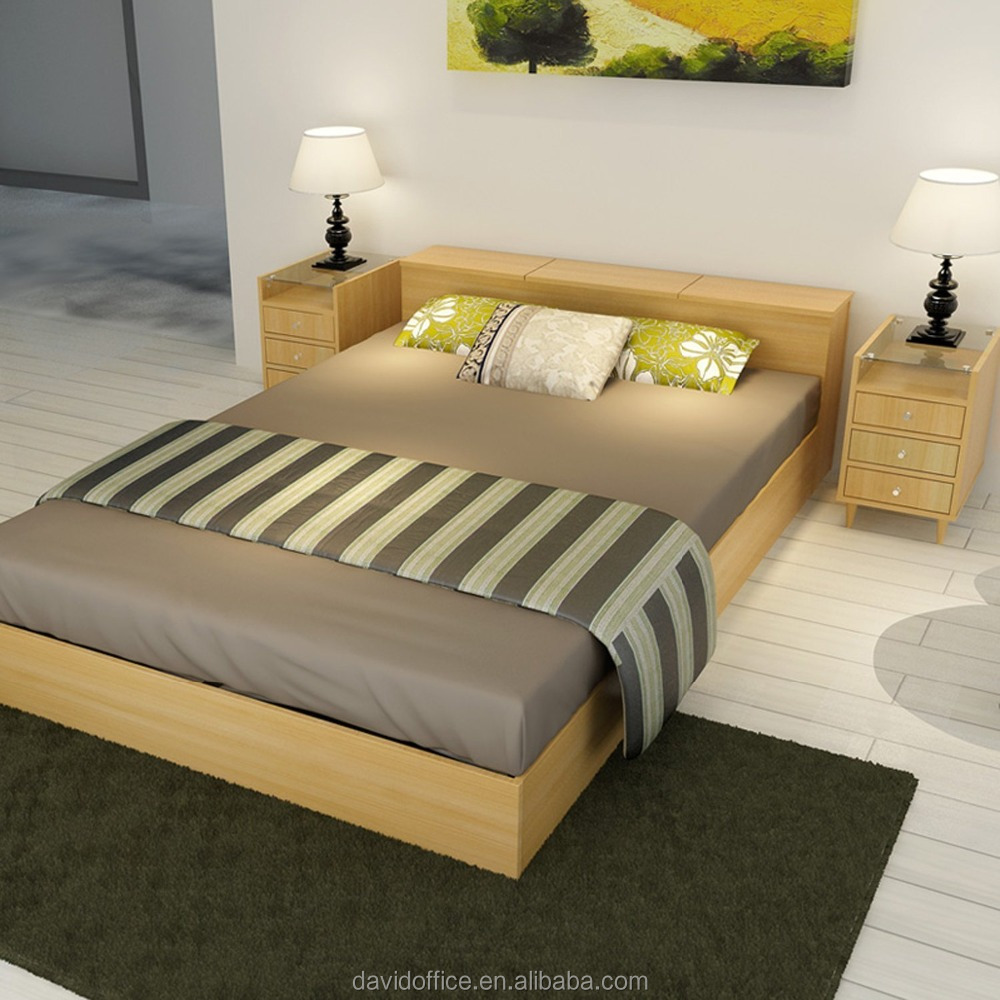 Wooden box bed designs in india bedroom inspiration database for Double bed design photos