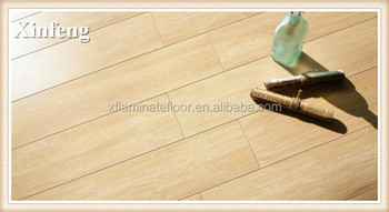 pvc waterproof laminate wood flooring with hdf