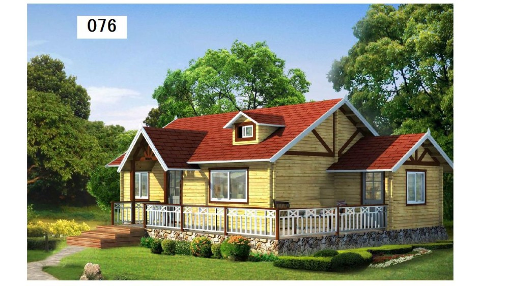 log home prefabricated wooden house india wooden house
