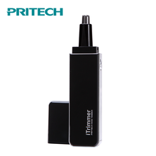 PRITECH Wholesale Stainless Steel Blade Battery Operated Hair Trimmer Nose Trimmer