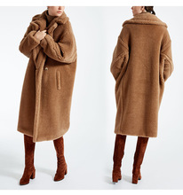 Donne <span class=keywords><strong>Cappotto</strong></span> <span class=keywords><strong>di</strong></span> Lana <span class=keywords><strong>di</strong></span> agnello <span class=keywords><strong>di</strong></span> alta qualità <span class=keywords><strong>di</strong></span> inverno Faux Shearling Teddy Pelliccia <span class=keywords><strong>di</strong></span> <span class=keywords><strong>cachemire</strong></span> della pelliccia <span class=keywords><strong>di</strong></span> modo lungo <span class=keywords><strong>Cappotto</strong></span> giacca outwear parka <span class=keywords><strong>cappotto</strong></span>