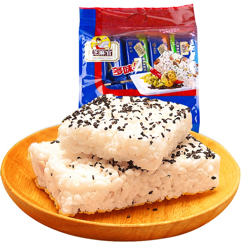 Hot Selling 600g Healthy Snack Food Sweet Rice Crackers With Low Calories