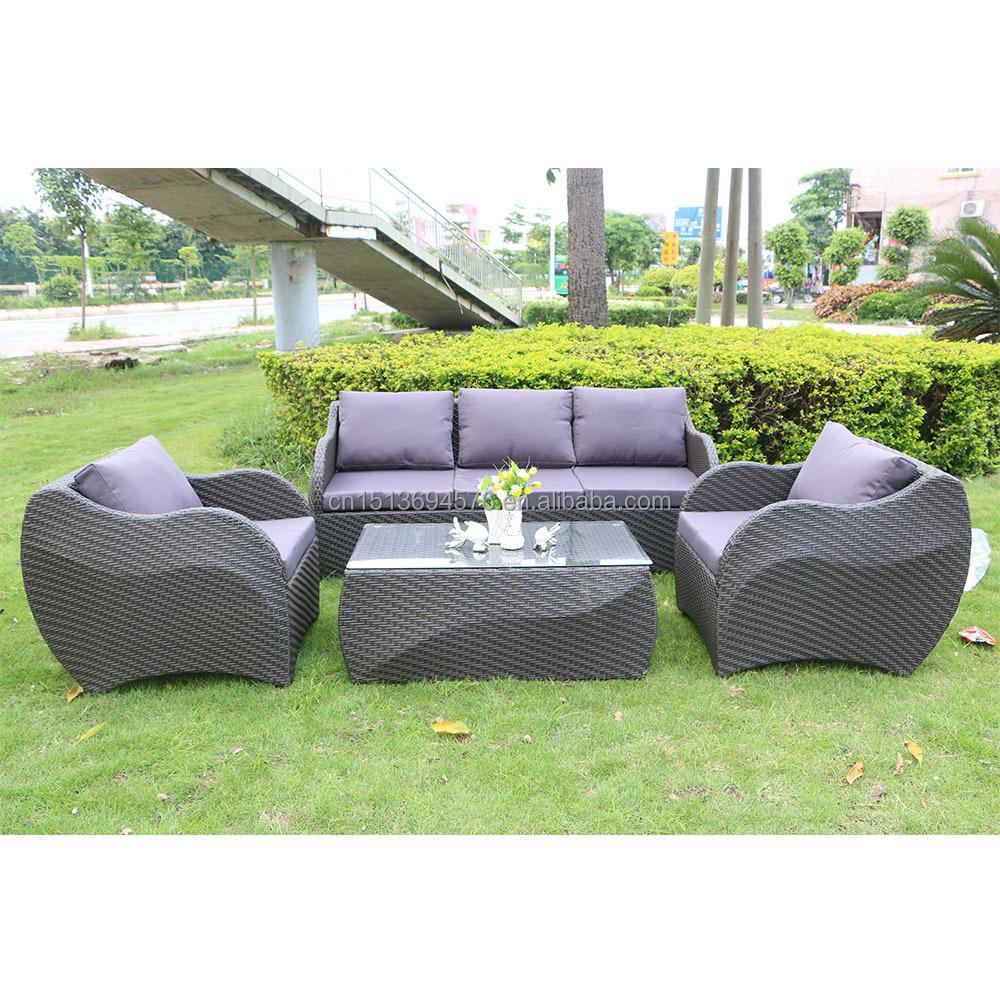 Estilo europa mobili rio de exterior rattan vime sof for Mobiliario de patio