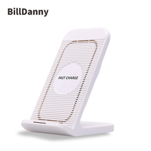 Genuine and new in stock ic chips amazon hot selling 2018 qi wireless charger power bank 10000mah aluminum alloy phone