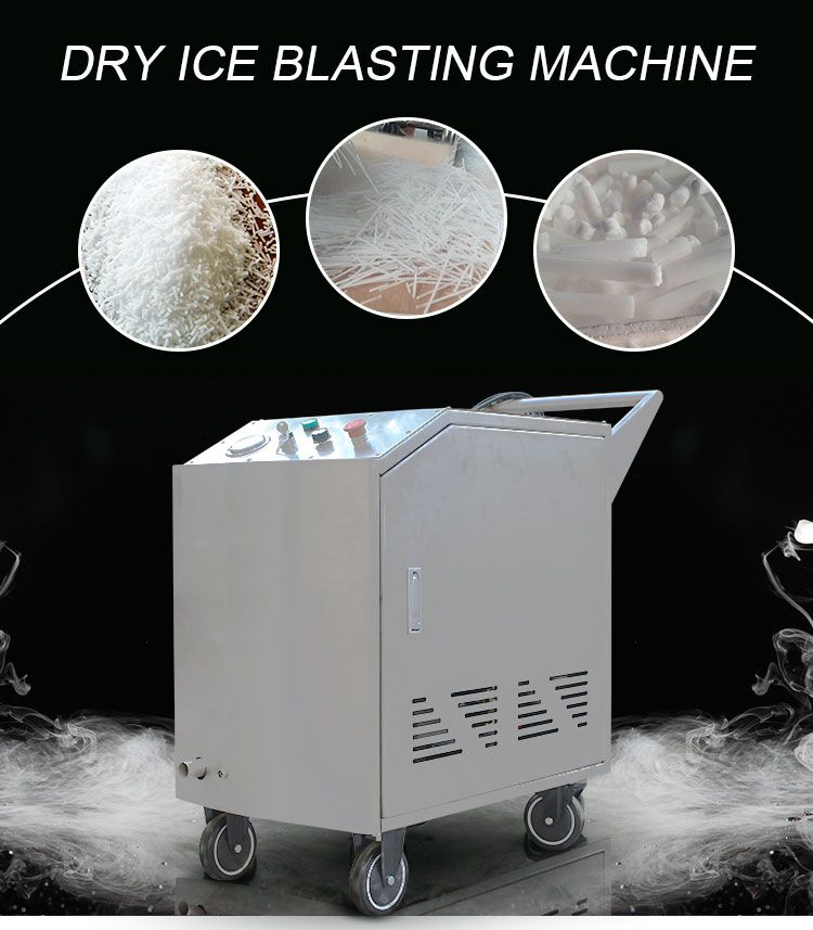 chinese machine suppliers dry ice blasting and chiller cleaning machine