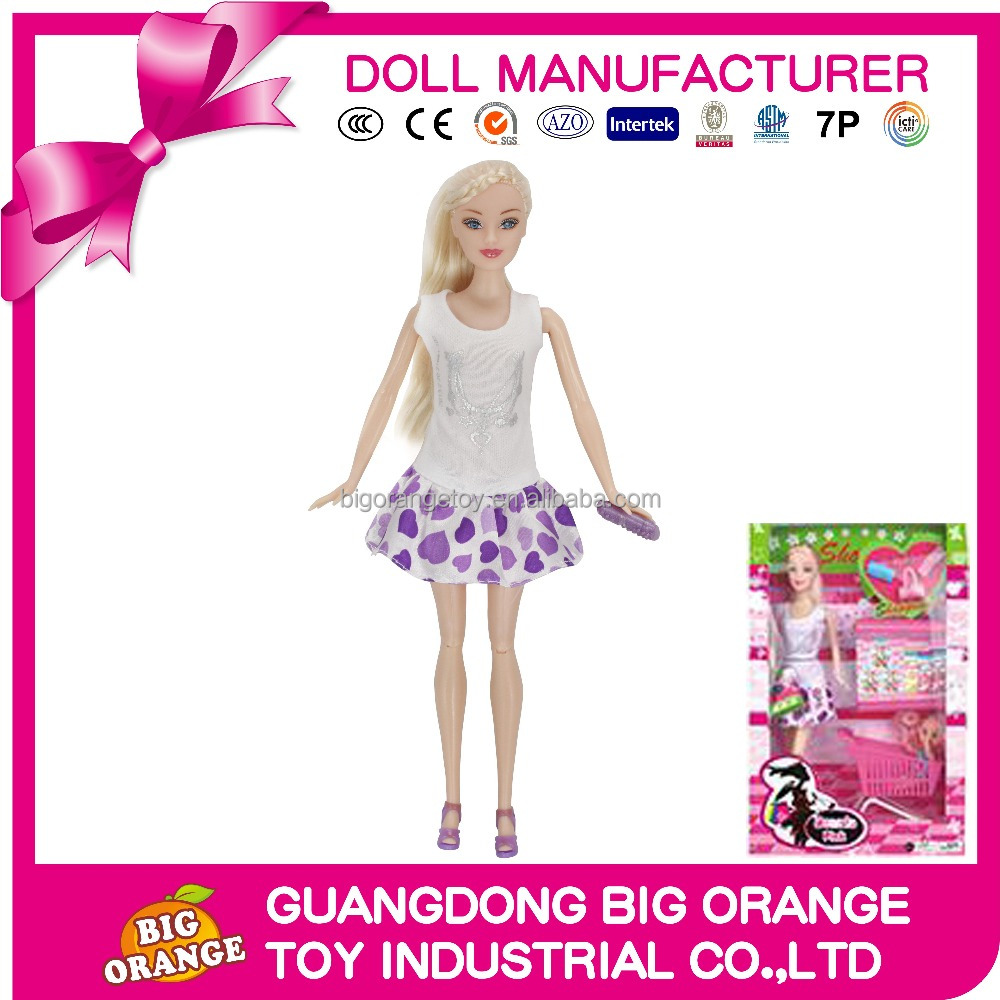 Hot Selling hight quality doll Plastic Toy Dream Girl play game together