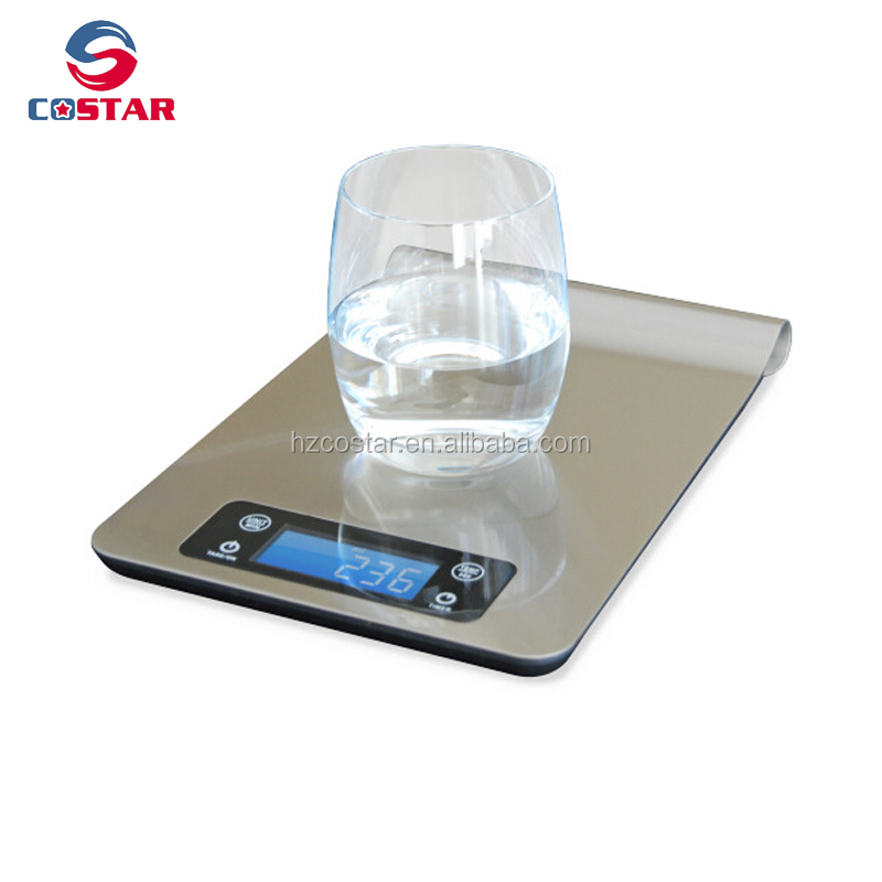 Stainless Steel digital multifunction food kitchen scale best led hanging weighing food scale