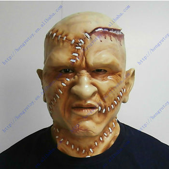 2015 Hot Selling Adult Size High Quality Celebrations Party Fancy Dress Rubber KING Costume Vampire Mask