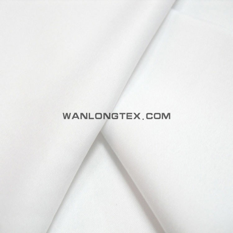 White Color Polyester Taffeta Lining Fabric