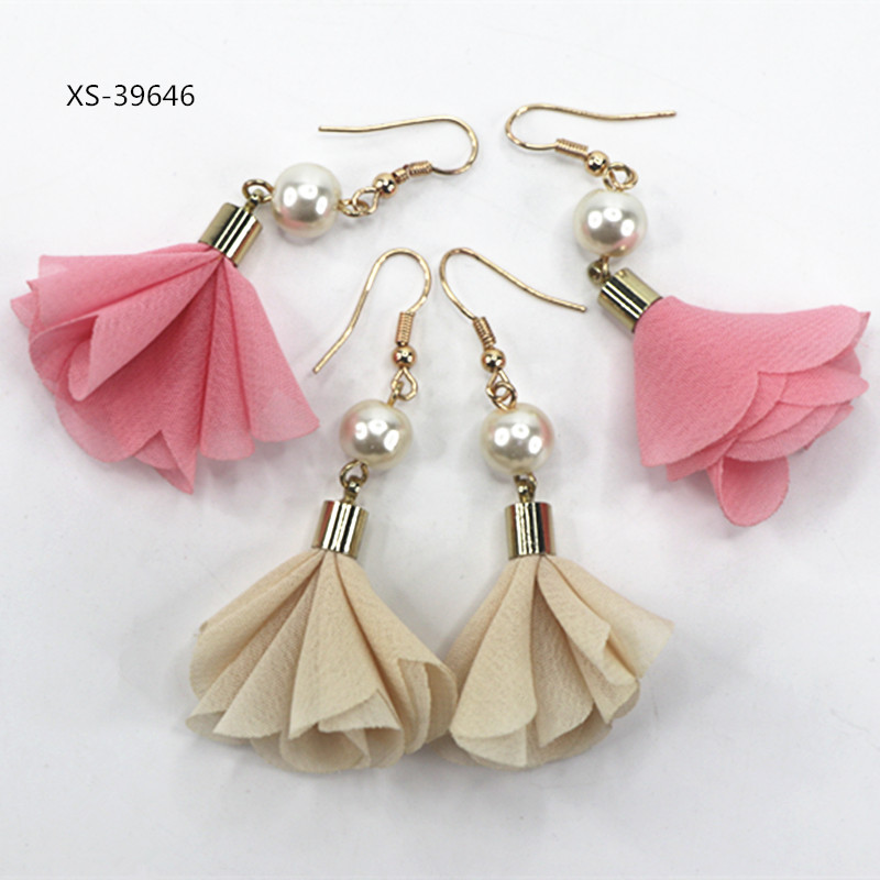 Fashion Earring Designs New Model Earrings,Dubai Pure Gold Jewelry Pearl Earring