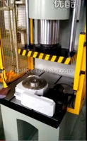 hydraulic stamping press with index table turn table whirler