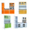 Knocked down modular kitchen design models / models kitchen storage cabinet