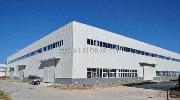 fast erection metal cladding steel frame structural workshop